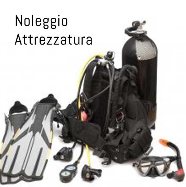 NOLEGGIO, Attrezzature Sub, Negozio Sub online